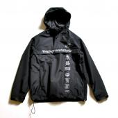 NYLON 3LAYER ANORAK *ブラック*
