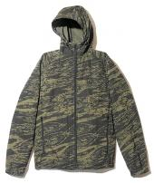 GHOSTLION CAMO HOODED JK *オリーブドラブ*
