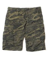 GHOSTLION CAMO CARGO SHORTS *オリーブドラブ*