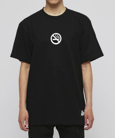 No Smoking Kills Icon T-shirt [ FRC637 ] *ブラック*