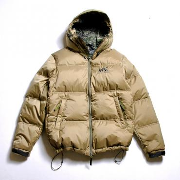 ×NANGA HOODED DOWN JACKET *ベージュ*