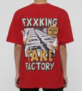 Fake Factory T-shirt [ FRC623 ] *レッド*