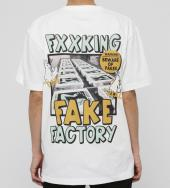 Fake Factory T-shirt [ FRC623 ] *ホワイト*
