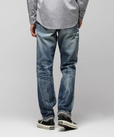 3Y W R/STRAIGHT DENIM PANTS