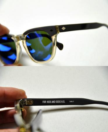 HS SUNGLASSES TYPE-T *グレー×ミラー*