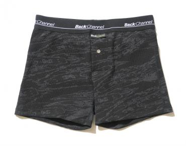 THERMAL BOXER UNDERWEAR *ブラックカモ*