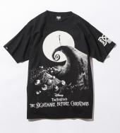 BxH THE NIGHTMARE BEFORE CHRISTMAS TEE *ブラック*