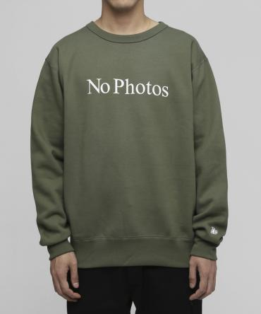 No Photos Sweatshirts[FRC244]   *グリーン*