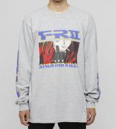 The Finger Long sleeve T-shirt [ FRC595 ] *グレー*