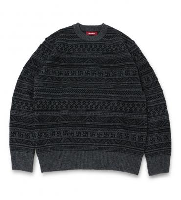 ORIGINAL BORDER SWEATER *グレー*
