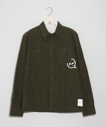Iconflannel shirt *オリーブ*