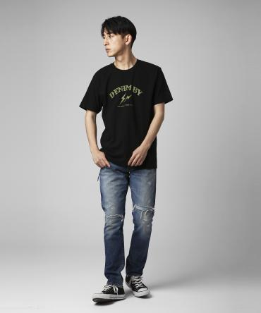 Remake regular fit denim pants *インディゴ*