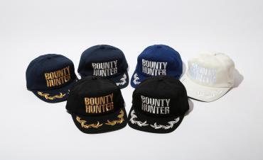 BxH EMBROIDEY CAP *ネイビーxシルバー*