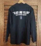BLACK AND YELLOW L/S *ブラック*