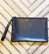 Leather Clutch Bag(L)   *ブラック*
