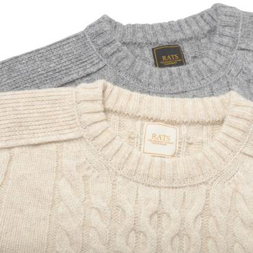 FISHERMAN'S KNIT *ベージュ*