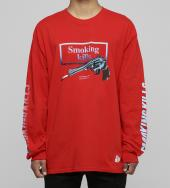 Smoking Gun Longsleeve T-shirt [ FRC245 ] *レッド*