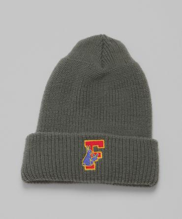 Rabbit's foot Beanie [ FRA177 ] *グレー*