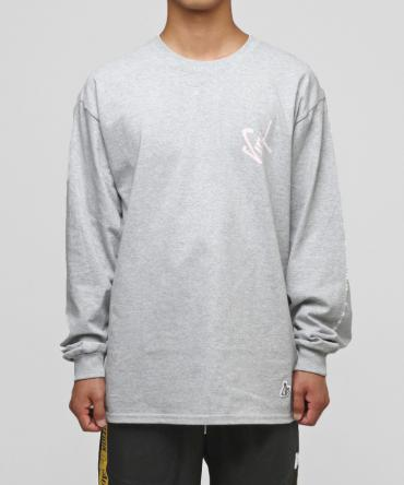 SEX records Long sleeve T-shirt [ FRC246 ] *グレー*