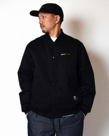 COTTON STADIUM JACKET *ブラック*