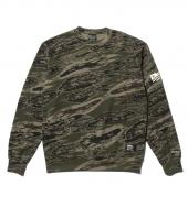 THERMAL CREW SWEAT *グリーンカモ*