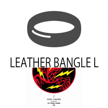 LEATHER BANGLE L