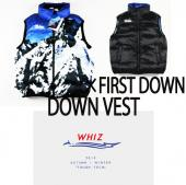 ×FIRSTDOWN DOWN VEST