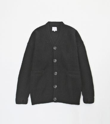 BIG MOHAIR CARDIGAN *ブラック*