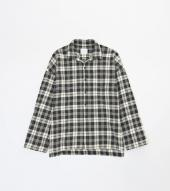 BIG CHECK SHIRTS *ブラック*