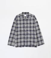 BIG CHECK SHIRTS *ネイビー*