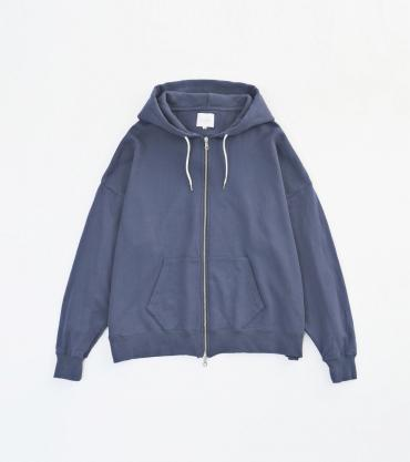 WIDE PARKA *ブルー*