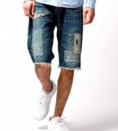 REMAKE DENIM SHORT PANTS *インディゴ*