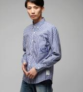 GINGHAM CHECK B/D SHIRTS *NY*
