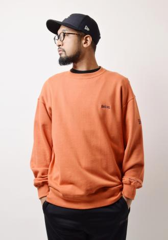 WIDE CREW SWEAT *レッド*