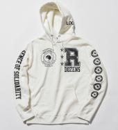 COLLEGE HOODIE *ホワイト*