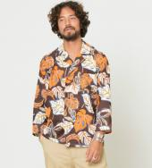 DEAD FABRIC LEAF ALOHA SHIRTS