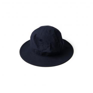 JAGGED LINE TWILL ARMY HAT *ネイビー*