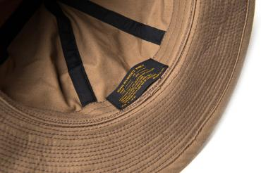 JAGGED LINE TWILL ARMY HAT *カーキベージュ*