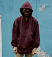 PULLOVER TRACK PARKA *ワインレッド*