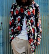 NORMAL ALOHA LONG SHIRTS  *ブラック*