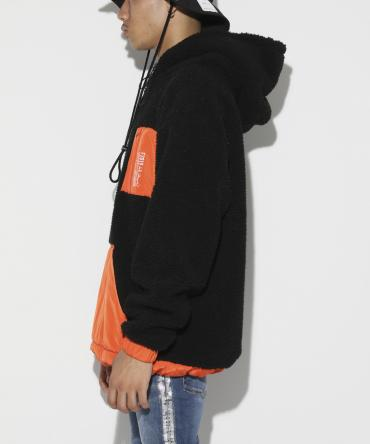 Switching Boa Hoodie [ LEC797 ] *ブラック*