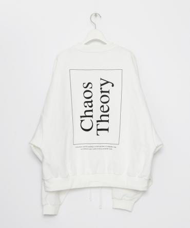 Chaos Theory Over Sized Sweat shirt [LEC786]*ホワイト*