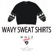 WAVY SWEAT SHIRTS