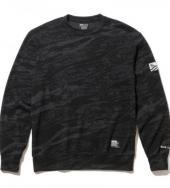 THERMAL CREW SWEAT *グレーカモ*