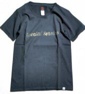 US MADE T-SHIRTS 「SPECIAL SERVICE」*ブラック*