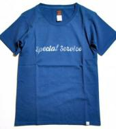 US MADE T-SHIRTS 「SPECIAL SERVICE」*ネイビー*