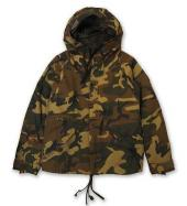 MILITARY HOOD PARKA *カモ*