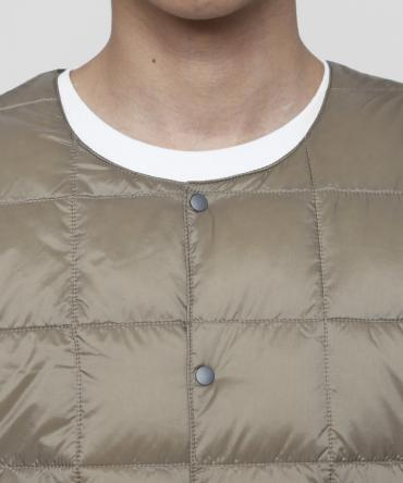 #FR2 Crew Neck Button Down Jacket[FRJ051] *カーキ*