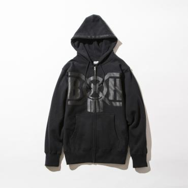 BxH BLACKxBLACK LOGO ZIP-UP PRAKA *ブラックxブラック*