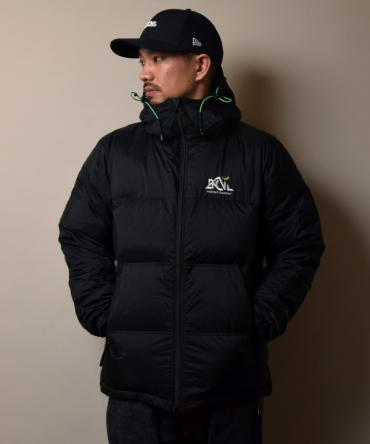xNANGA HOODED DOWN JACKET *ブラック*